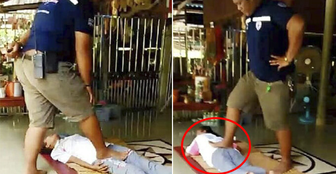 Single Mother Gets Thai Massage For Leg Pain, Ends Up With Broken Bone And Paralysed - WORLD OF BUZZ