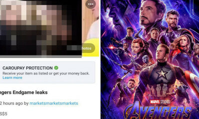 Someone is Selling 4-Minute Leaked Videos of 'Avengers: Endgame' Online for RM15 - WORLD OF BUZZ