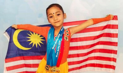 Sree Abiraame Making Us Proud Again by Winning 5 Gold Medal for Malaysia - WORLD OF BUZZ