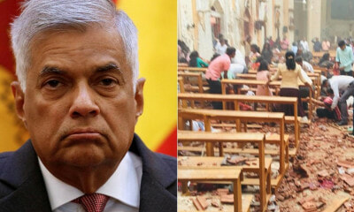 Sri Lanka Prime Minister Said There Was Early Warnings About Multiple Explosions in Churches & Hotels - WORLD OF BUZZ
