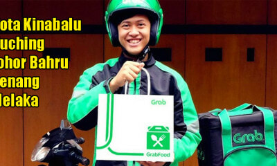 Starting 22 April, GrabFood Will Be Available in Penang, Melaka, Johor, Kuching & KK! - WORLD OF BUZZ