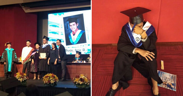 Student Cries Because Parents Did Not Came For His Graduation - World Of Buzz 4