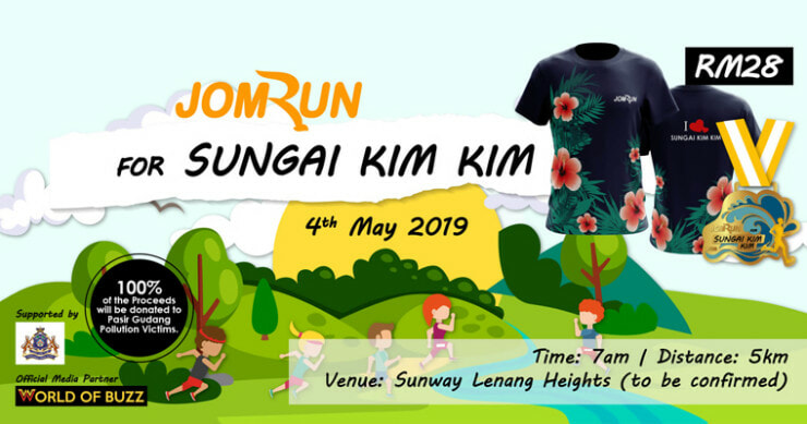 [TEST] This 5K Run is Donating ALL Proceeds to the Sg. Kim Kim Victims & You Can Take Part From ANYWHERE in M'sia - WORLD OF BUZZ