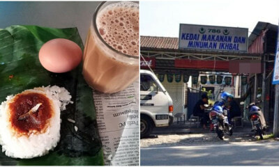 This Seremban Mamak Stall Owner Makes RM840 a Day By Selling Nasi Lemak at RM0.70 - WORLD OF BUZZ 4