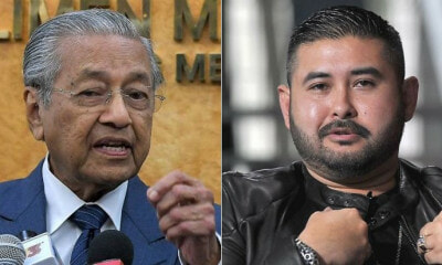 Tun M: TMJ Isn't Above The Law, He Can Held Accountable For Seditious Remarks - WORLD OF BUZZ