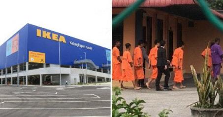 "Two 17Yo Students Arrested After Following Internet ""challenge"" By Staying Overnight At Ikea Batu Kawan - World Of Buzz 3"