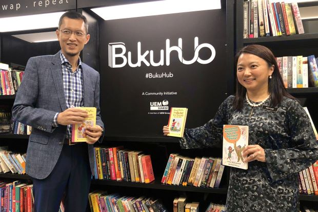 You Can Drop Off Your Unwanted or Pre-Loved Books in Boxes Placed Around Publika - WORLD OF BUZZ