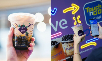 You Can Get Tealive Drinks At Only RM2.50 If You Use TNG eWallet To Pay, Starting May 5 Until June 15 - WORLD OF BUZZ