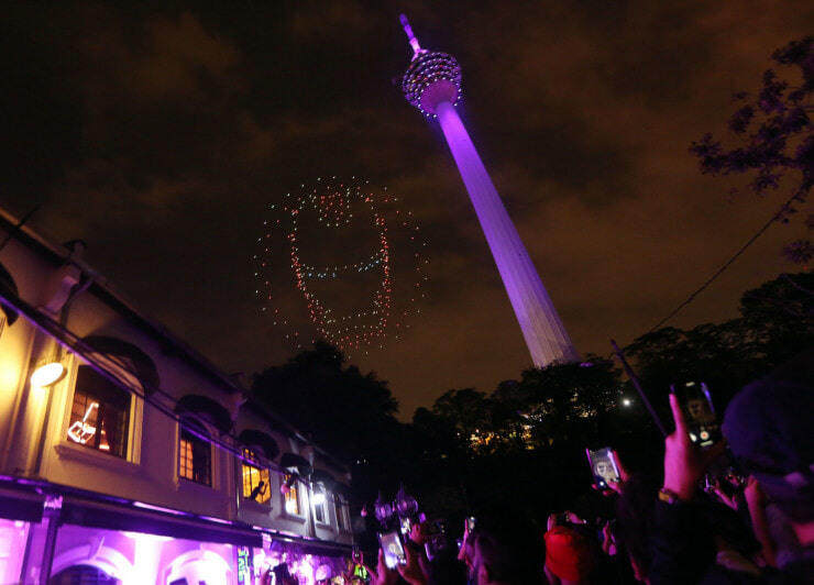 You Can Watch an Avengers-Themed Light Show Near KL Tower on 26 April! - WORLD OF BUZZ 1