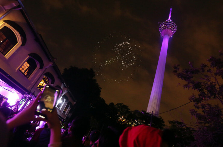You Can Watch an Avengers-Themed Light Show Near KL Tower on 26 April! - WORLD OF BUZZ 2