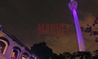 You Can Watch an Avengers-Themed Light Show Near KL Tower on 26 April! - WORLD OF BUZZ 3