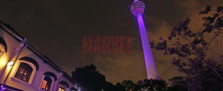 You Can Watch an Avengers-Themed Light Show Near KL Tower on 26 April! - WORLD OF BUZZ