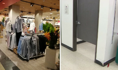 18yo Male Staff Sneaks Into Fitting Room to Record Girl Trying On Clothes in Johor Mall - WORLD OF BUZZ 4