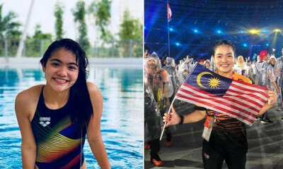 19yo Wins Malaysia's First Medal in Women's Springboard at International Diving Competition - WORLD OF BUZZ