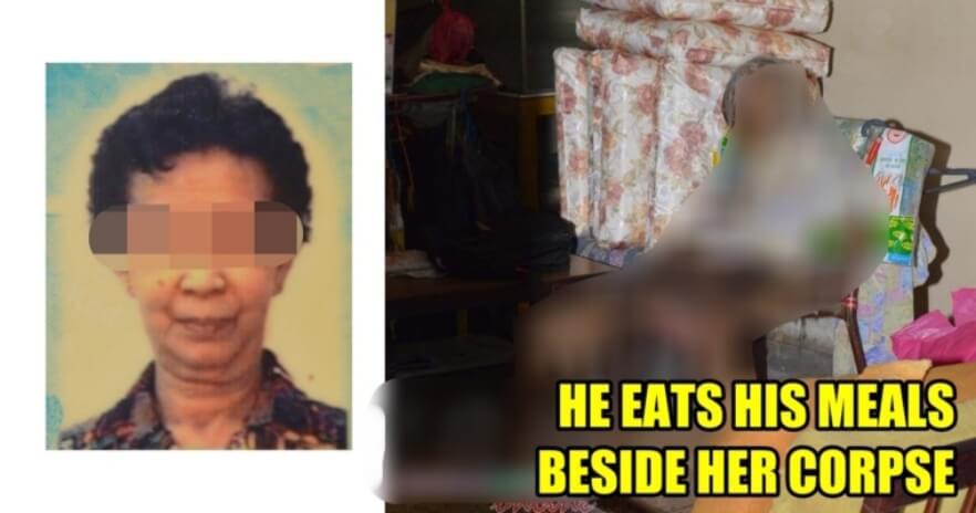 40yo Man Lives with His Mother's Decomposing Corpse for 4 Months in Johor - WORLD OF BUZZ