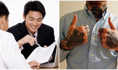 58% of Malaysian Employers Wouldn't Hire a Qualified Person With Tattoos - WORLD OF BUZZ