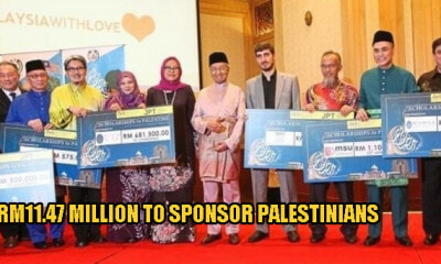 12 Local Universities Raised RM11.47 Million to Sponsor Palestinians to Further Their Studies in M'sia - WORLD OF BUZZ