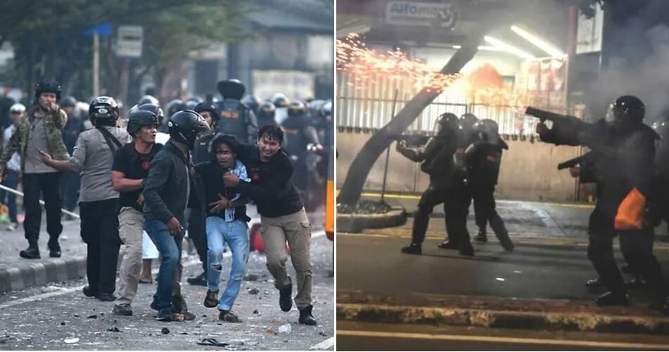 Breaking: 6 Dead & 200 Injured In Riot After Indonesia Releases Election Results - World Of Buzz 5