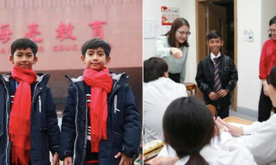 Businessman Sponsors Viral Kid Who Speaks 15 Languages to Study in China - WORLD OF BUZZ