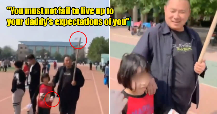 Father Forces Daughter to Attend School Open Day Despite Being Attached to IV Drip - WORLD OF BUZZ 1