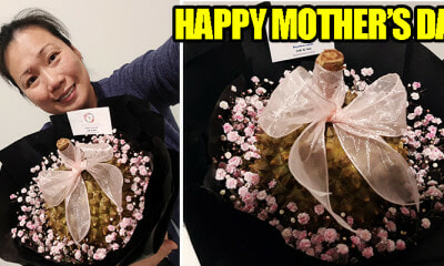 Florist Makes a Durian Bouquet for Mother's Day - WORLD OF BUZZ 1