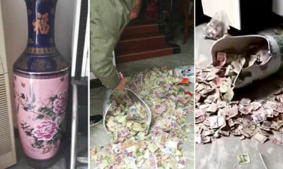 Girl Accidentally Breaks a Vase at Home, Reveals Father's Secret Savings of 13 Years - WORLD OF BUZZ