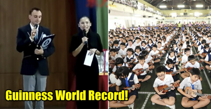 Malaysian Primary School Breaks Guinness World Record For Holding Largest Music Class - WORLD OF BUZZ
