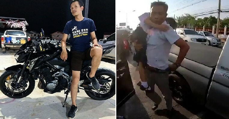 Heroic Biker Saves Girl Suffering from Potentially Deadly Seizure Stuck in Traffic Jam By Rushing Her to Hospital - WORLD OF BUZZ 6
