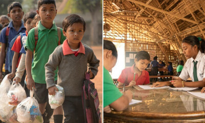 This School for Underprivileged Children Allows Students to Pay for Fees Using Only Plastic Waste! - WORLD OF BUZZ