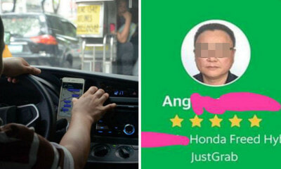 Kind Grab Driver Sends Passenger & Injured Son to Hospital, Turns Down Offer Of Extra Money - WORLD OF BUZZ
