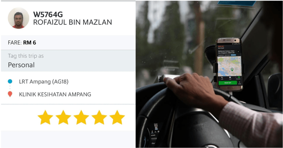 Kindhearted Grab Driver Sent Girl To Clinic For Free, Helped Her With The Medical Fee Payment Too - WORLD OF BUZZ 2