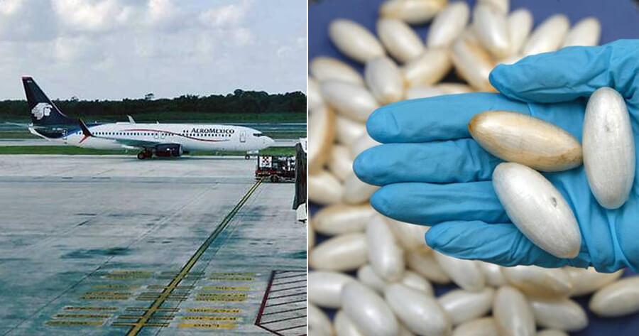 Man Died in Plane After Swallowing 246 Packets of Cocaine - WORLD OF BUZZ