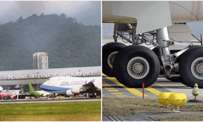 Man Hides in Plane's Landing Gear at Penang Airport As He Couldn't Afford Ticket Home - WORLD OF BUZZ