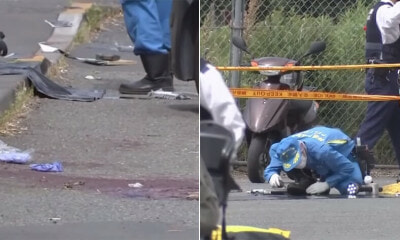Man Randomly Attacks Crowd of Girls at Bus Stop With Knives & Stabs Himself After, 2 Killed and 17 Injured - WORLD OF BUZZ
