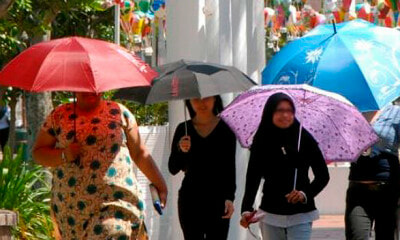 MET: Malaysians Will Experience Hot And Dry Weather From May to October 2019 - WORLD OF BUZZ