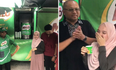 Nestle Malaysia Surprises Pregnant Woman Who Chased Down Milo Truck in Viral Video - WORLD OF BUZZ