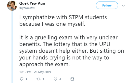 Netizen Speaks In Breadth The Advantages Of STPM, And How Things Should Change For The Better - WORLD OF BUZZ 3
