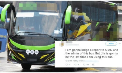 Netizen Uncovers Racist Bus Conductor, Reveals His Action In Real-Time - WORLD OF BUZZ