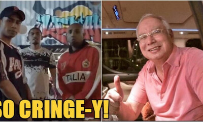 "Netizens CRINGE At Najib's Rempit-wannabe Rap Music Video ""Bukan Biashe Biashe"" - WORLD OF BUZZ"