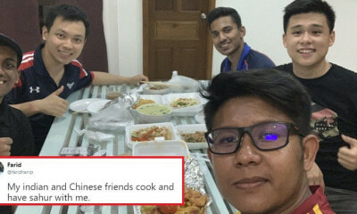 Netizens' Hearts Warmed By Multiracial Malaysian Friends Breaking Fast Together - World Of Buzz