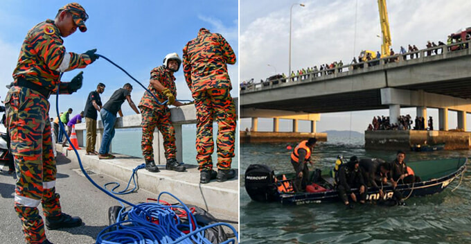 Penang Fire Dept Has a Specialised Team Just to Handle Suicide Attempts On Penang Bridges - WORLD OF BUZZ 1