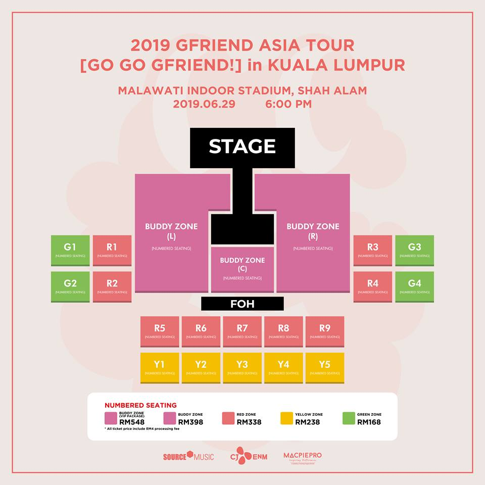 Popular K-Pop Group GFRIEND Is Coming to KL & Here's How To Get Up to 30% Off Tickets! - WORLD OF BUZZ 1