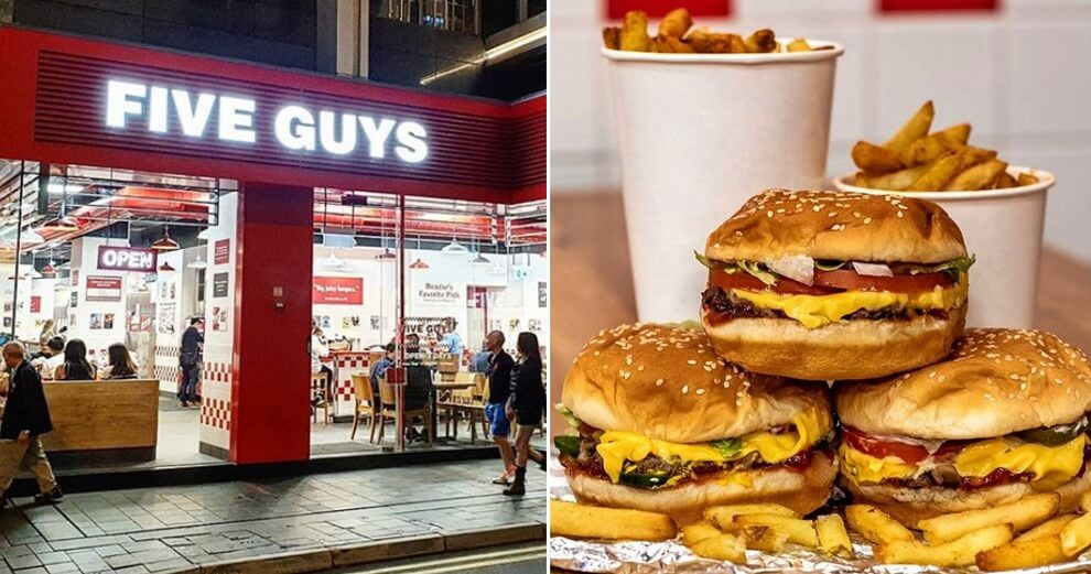 Report: Cult-Favourite American Burger Chain Five Guys May Open in M'sia Later in 2019! - WORLD OF BUZZ 1