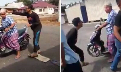 Selangor Teens Bully & Throws Rubbish at Helpless Old Man, Gets Caught by Enraged Villagers - WORLD OF BUZZ