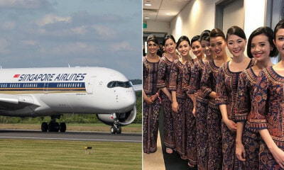 Singapore Airlines Is Hiring & Their Basic Salary Is Up To RM15,000 After Training - WORLD OF BUZZ