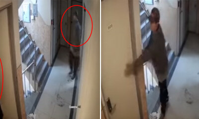 Watch: Woman Escapes - WORLD OF BUZZ