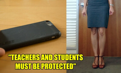Student Took Up-skirt Photos of His Teachers by Pretending to Ask Questions - WORLD OF BUZZ