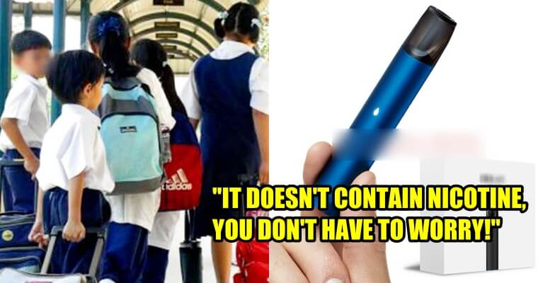 "Students Said They're Just ""Trying Out Fruit Flavours"" By Vaping In School - WORLD OF BUZZ"
