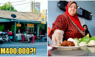 This Entrepreneur Makes RM400,000 A Month Just By Selling Nasi Lemak! - WORLD OF BUZZ