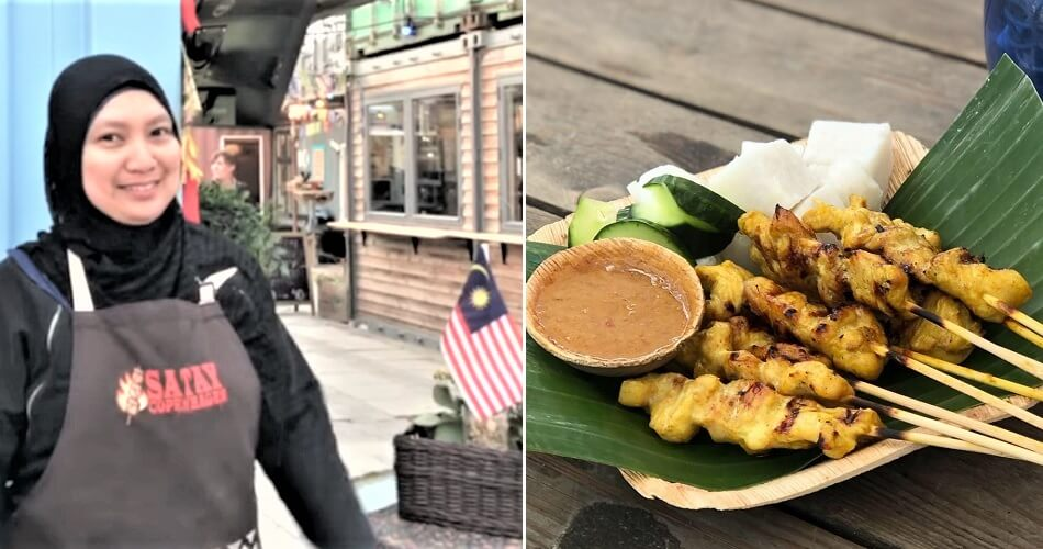 This Malaysian Has a Satay Stall in Denmark & She Can Sell Up to 600 Sticks a Day! - WORLD OF BUZZ 8